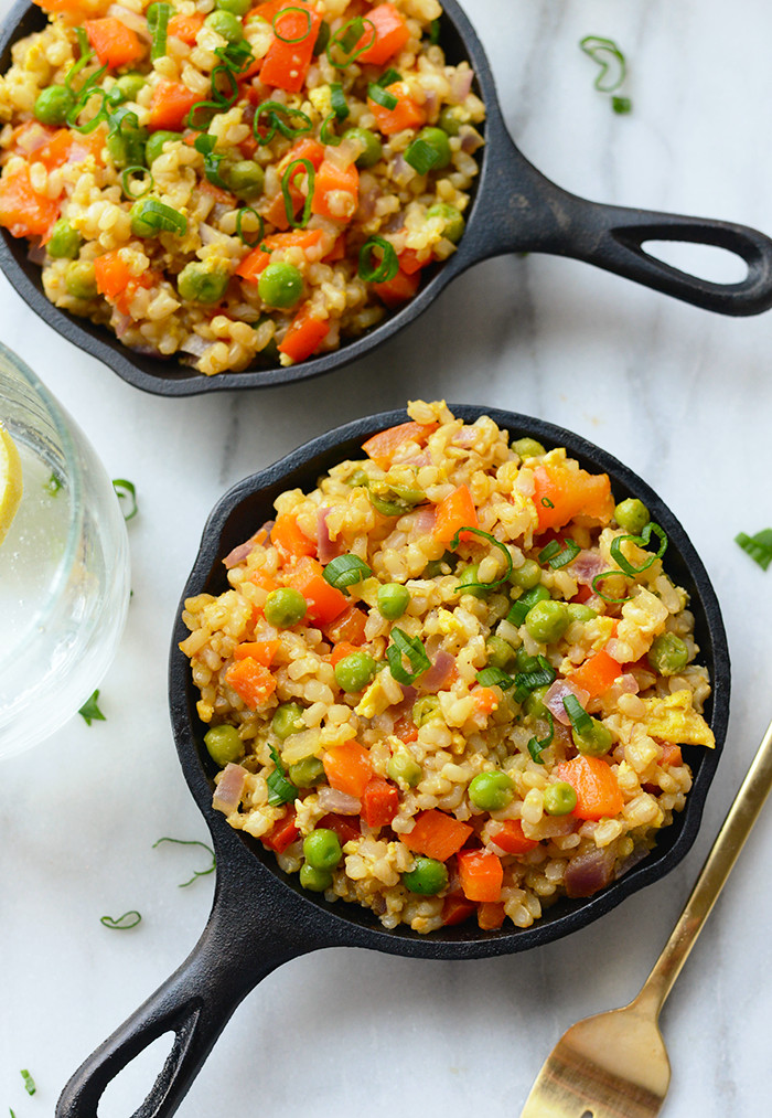 Is Fried Rice Healthy  Healthy Ve arian Fried Rice Fit Foo Finds