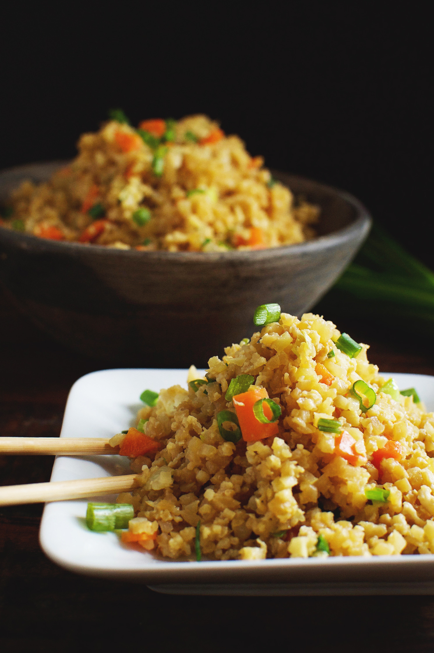 Is Fried Rice Healthy  Easy Low Carb Cauliflower Fried Rice Recipe Simply So