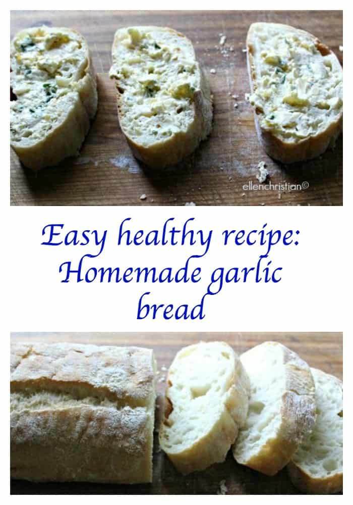 Is Garlic Bread Healthy  Easy healthy recipe Homemade garlic bread Our Family World
