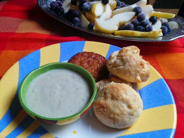 Is Gravy Healthy  A Healthier Biscuits and Gravy Recipe