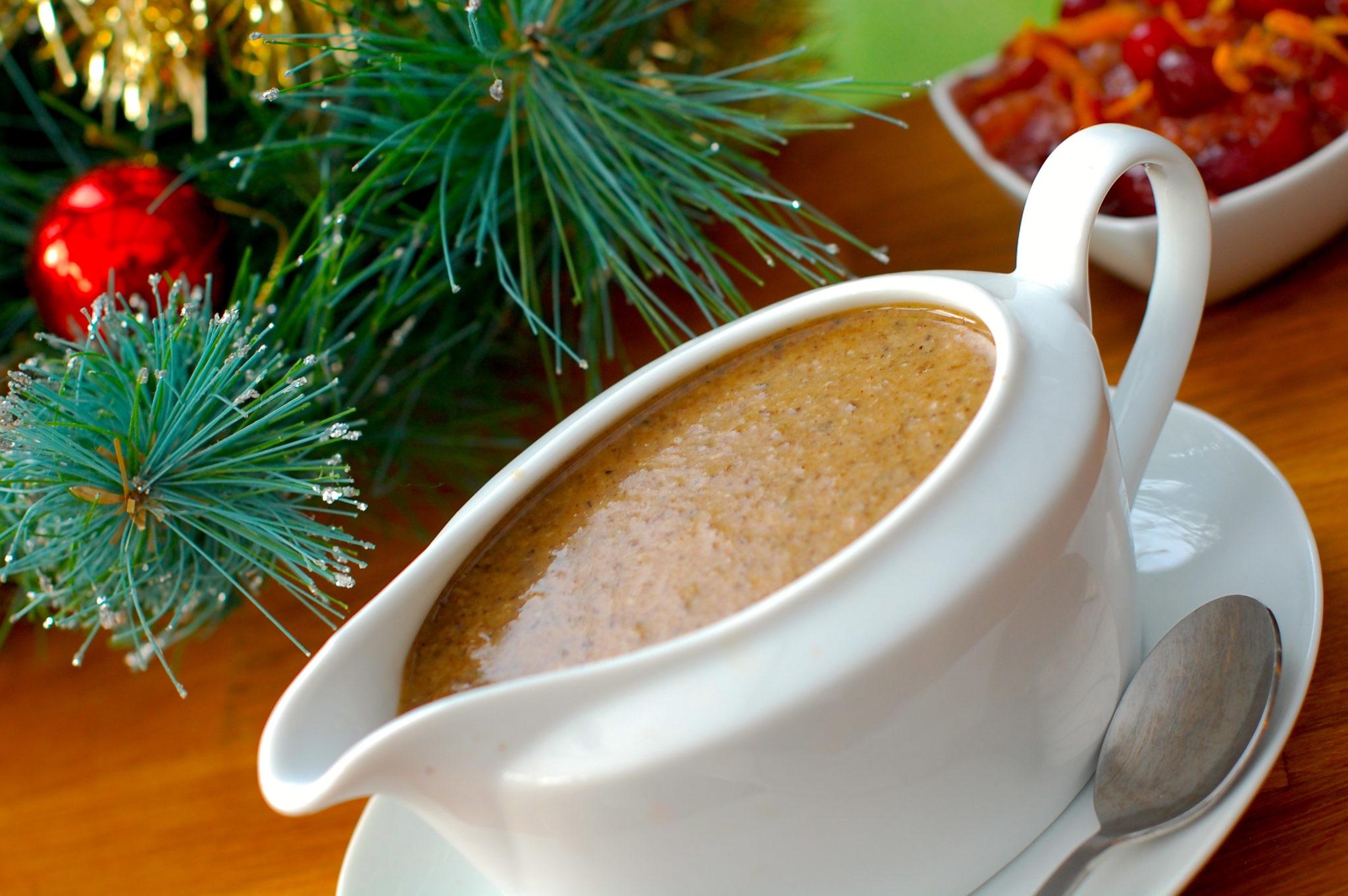 Is Gravy Healthy  A healthy Mushroom Gravy recipe Rocking Raw Chef