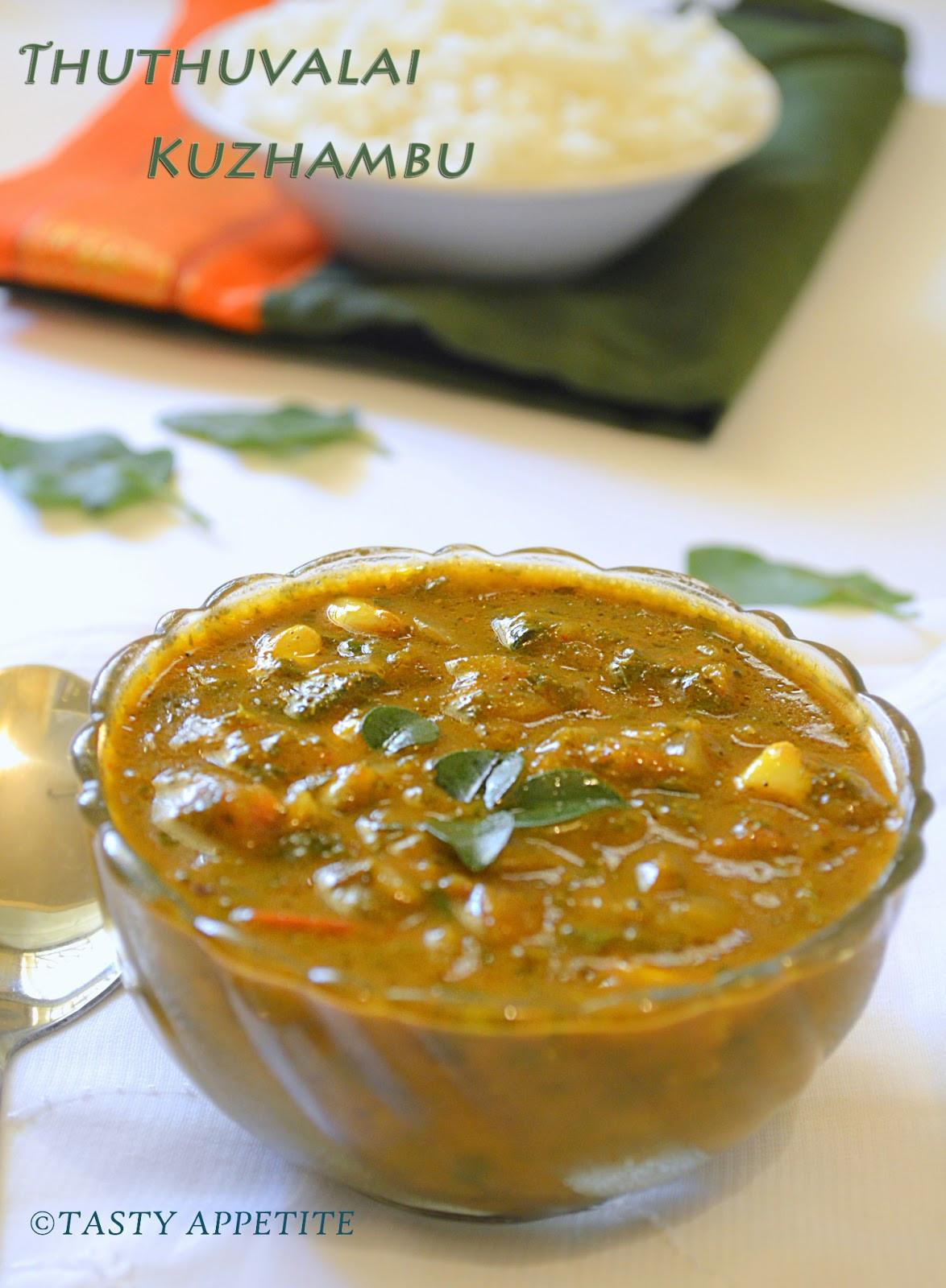 Is Gravy Healthy  How to make Thuthuvalai Kuzhambu Spinach Gravy Healthy