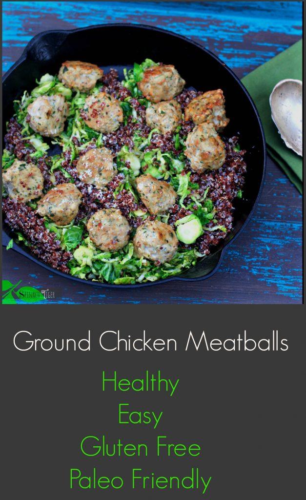 Is Ground Chicken Healthy  How to Make Italian Ground Chicken Meatballs Gluten Free