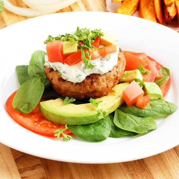 Is Ground Turkey Meat Healthy  Classic Paleo Turkey Burgers Low Carb