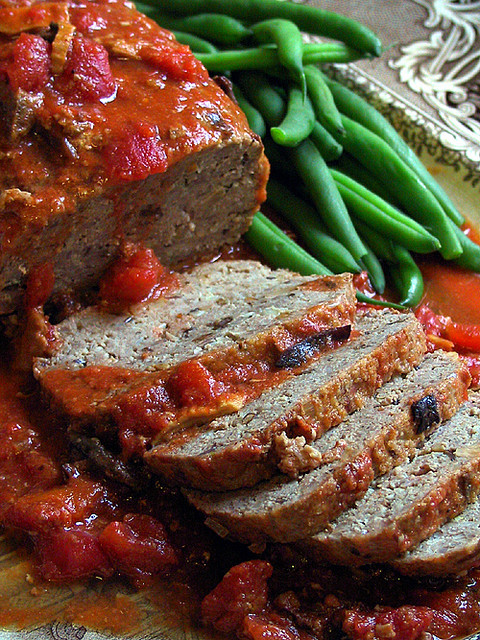Is Ground Turkey Meat Healthy  Italian style Ground Turkey Meatloaf STL Cooks