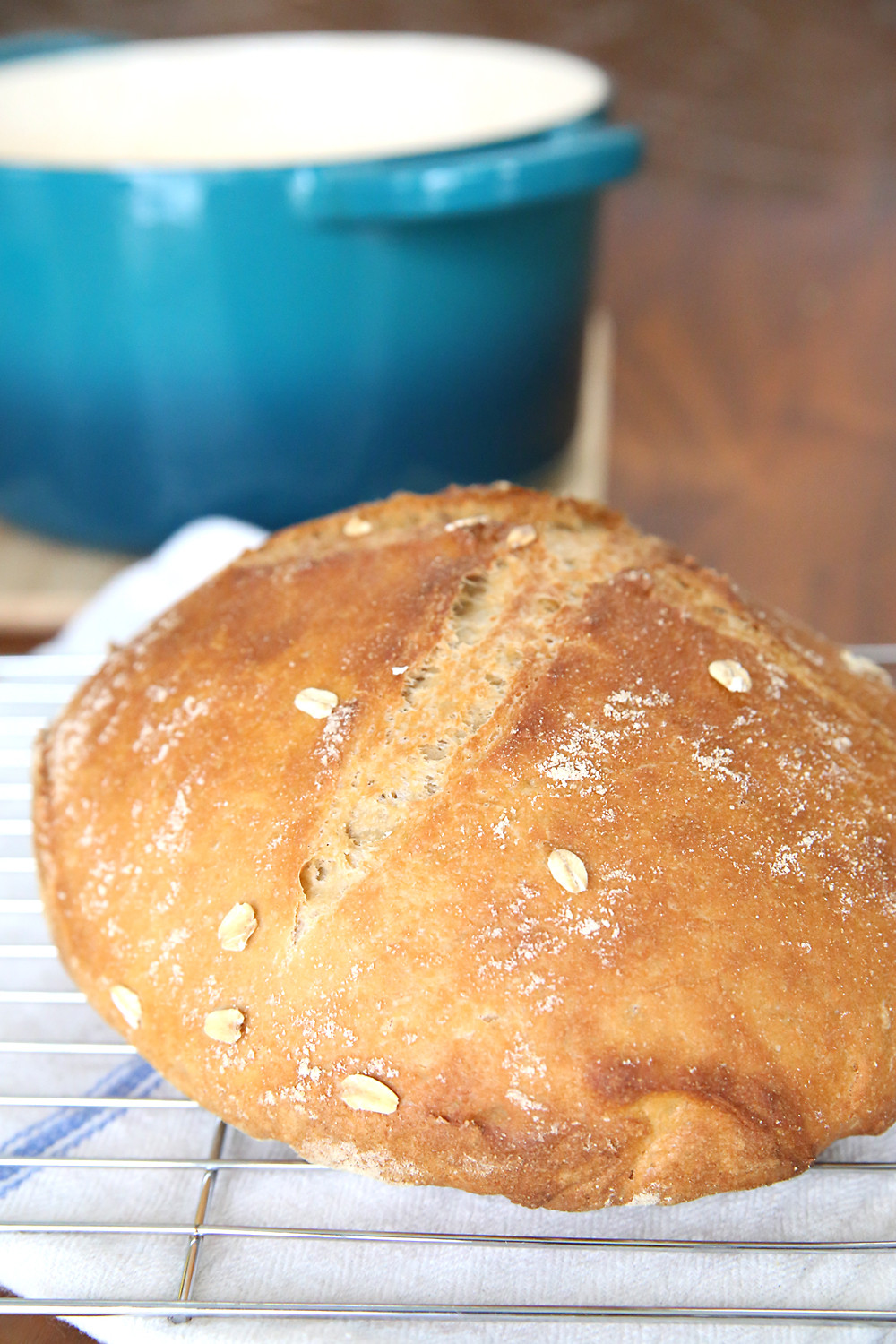 Is Homemade Bread Healthy  whole wheat artisan bread easiest bread recipe ever It