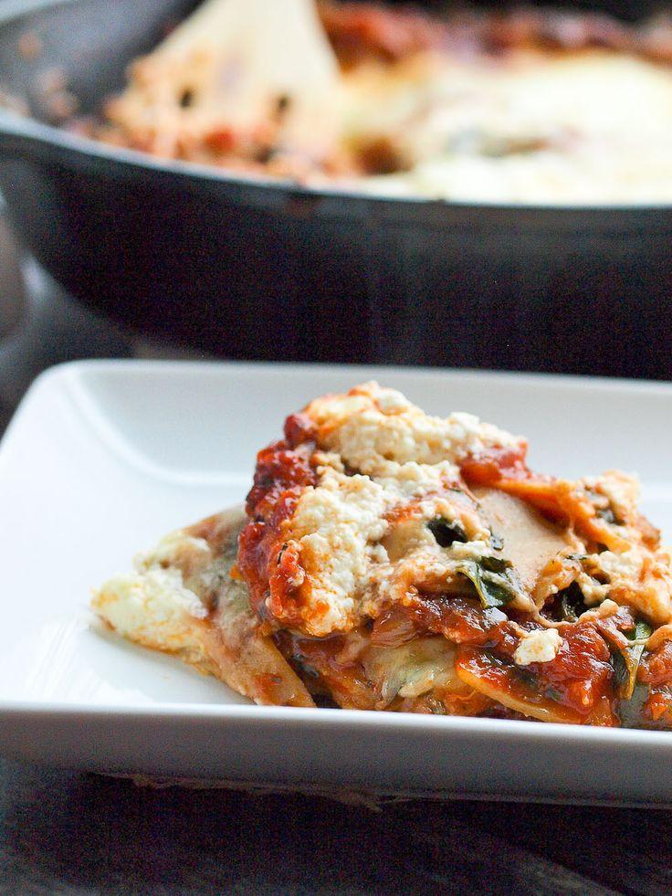 Is Lasagna Healthy  Best 20 Healthy Ve arian Lasagna ideas on Pinterest