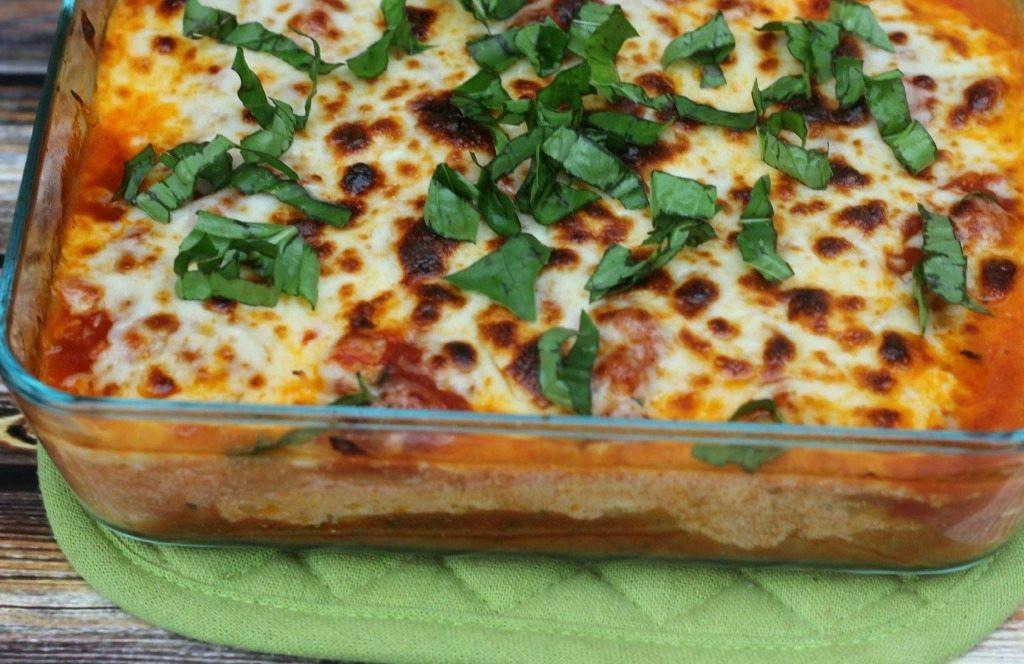 Is Lasagna Healthy  Spaghetti Squash Lasagna [Ve arian & Gluten Free] I