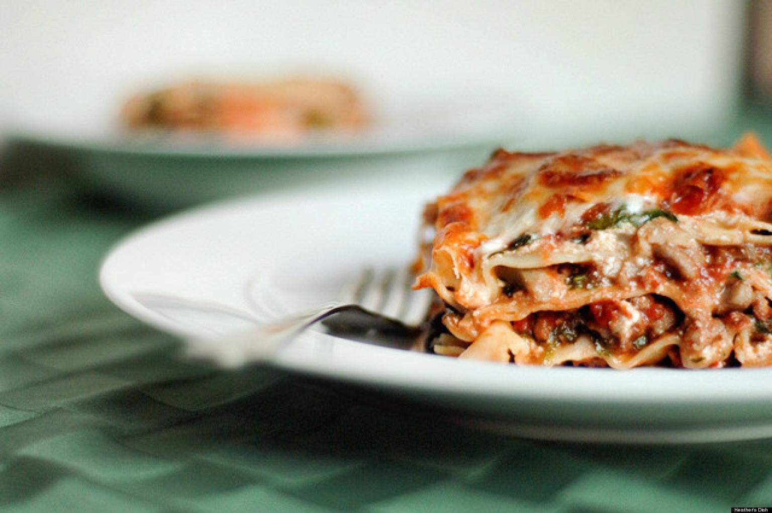 Is Lasagna Healthy  Healthy Lasagna Recipes PHOTOS