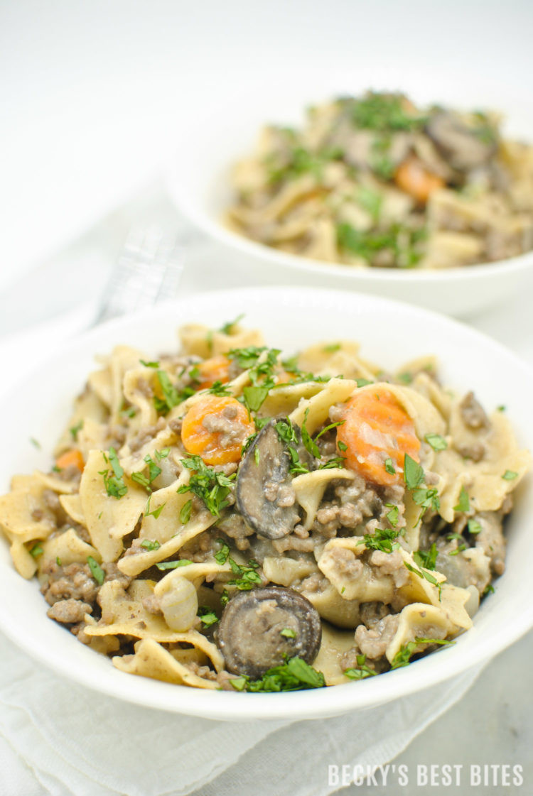 Is Lean Ground Beef Healthy 20 Of the Best Ideas for Lean Ground Beef Stroganoff Becky S Best Bites