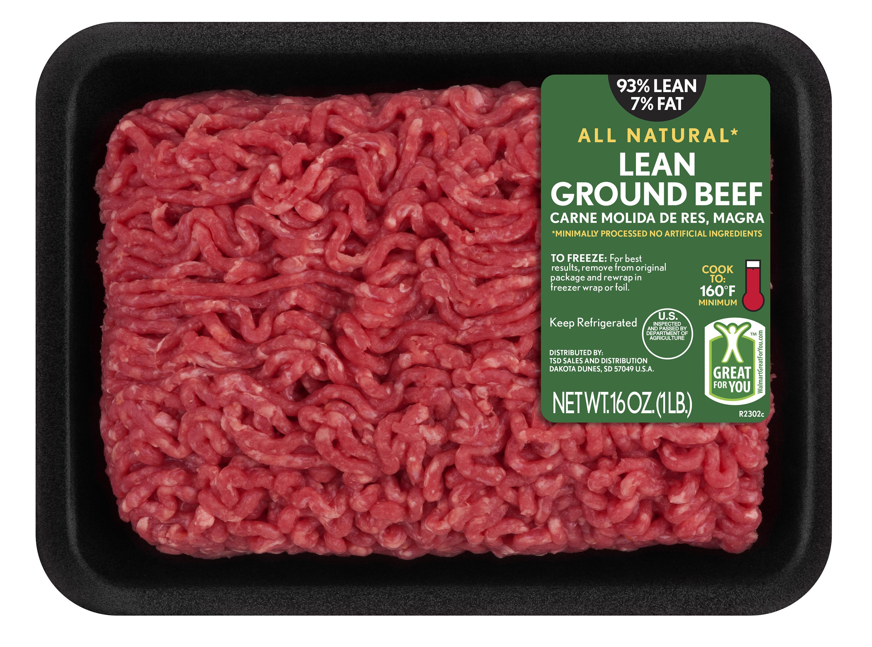 Is Lean Ground Beef Healthy  Lean Fat Lean Ground Beef 1 lb Walmart