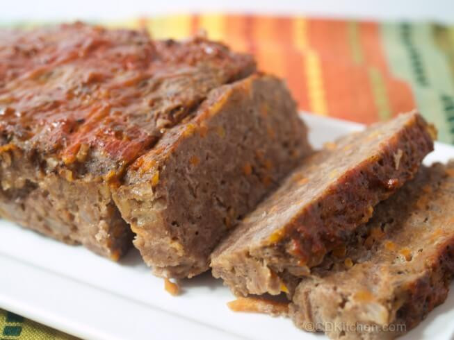 Is Meatloaf Healthy  Healthy Hearty Meat Loaf Recipe