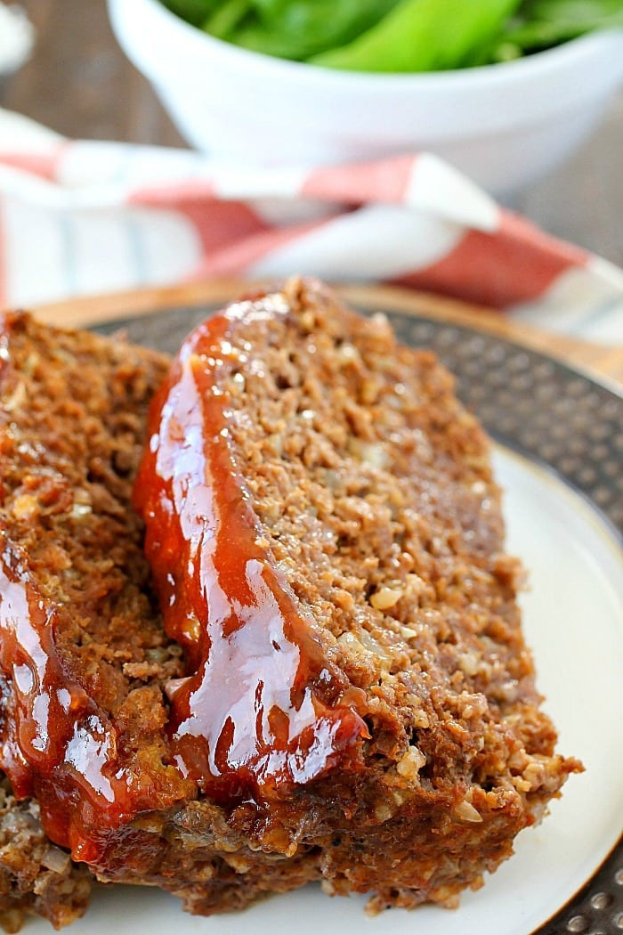 Is Meatloaf Healthy  Best Ever Meatloaf Recipe Yummy Healthy Easy