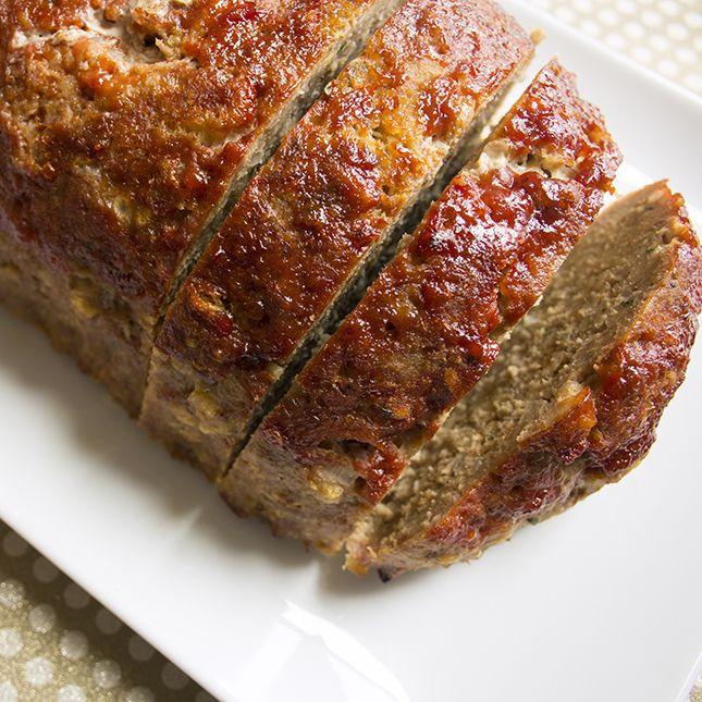 Is Meatloaf Healthy  Skinny Turkey Meatloaf Recipe