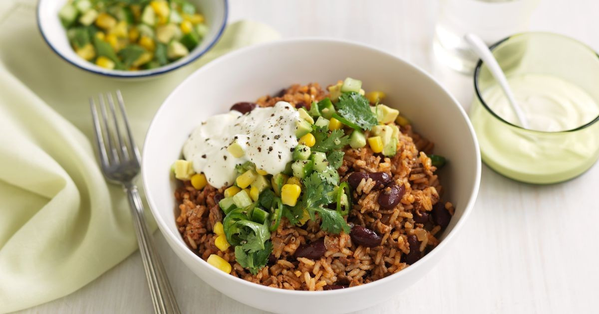 Is Mexican Rice Healthy  Healthy Mexican rice & beef bowls