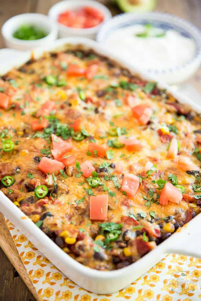 Is Mexican Rice Healthy  Mexican Rice Casserole • The Healthy Foo