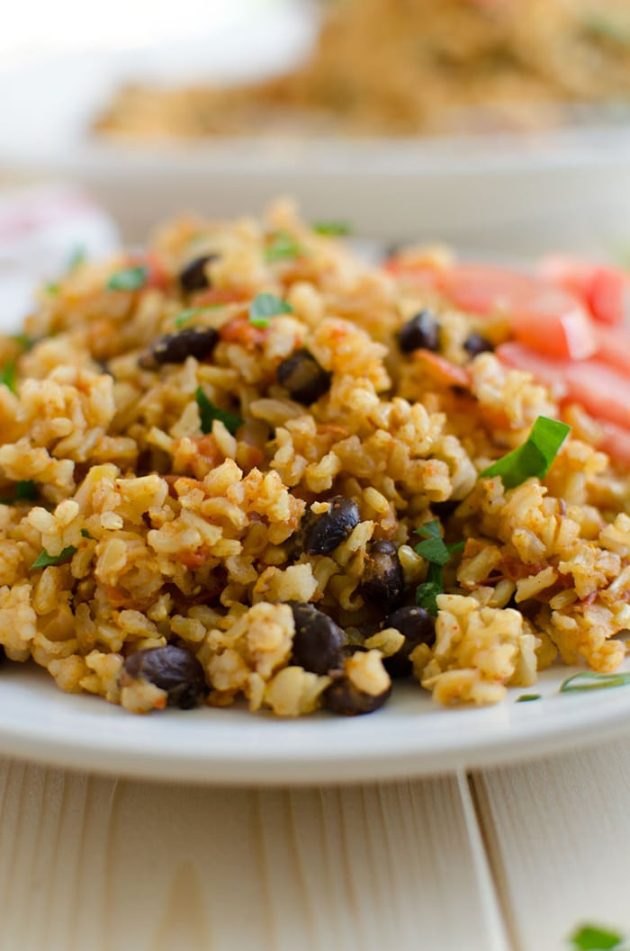 Is Mexican Rice Healthy  Mexican Brown Rice Recipe A e Pot Healthy Meal