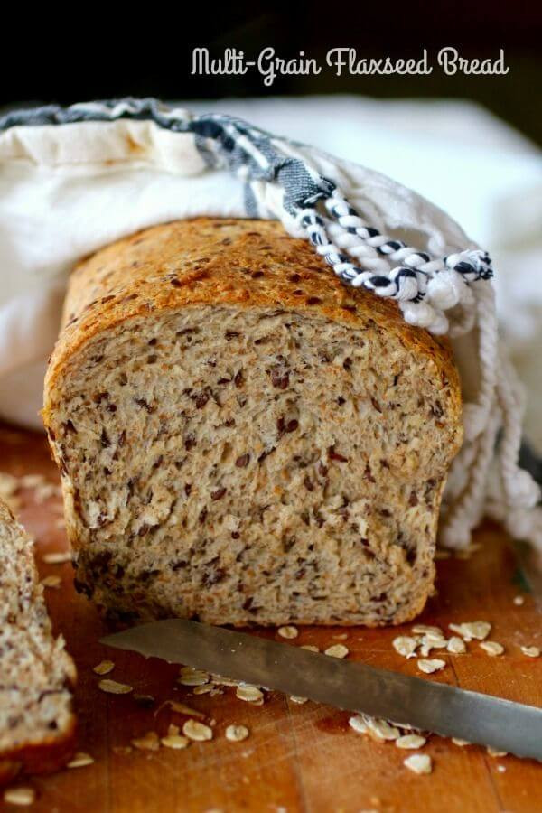 Is Multigrain Bread Healthy  Multi Grain Flaxseed Bread Wholesome Goodness