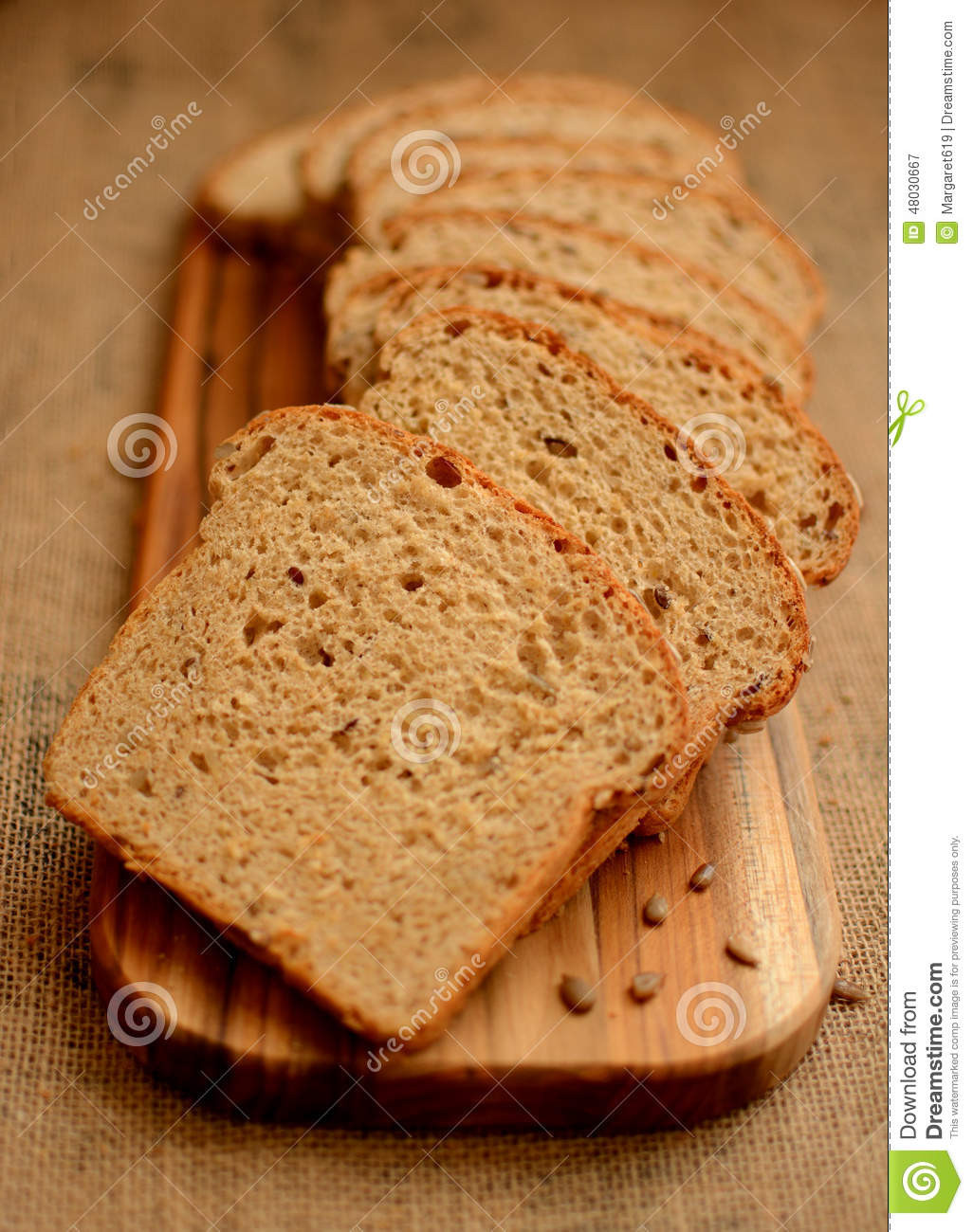 Is Multigrain Bread Healthy  Healthy Multigrain Bread Stock Image