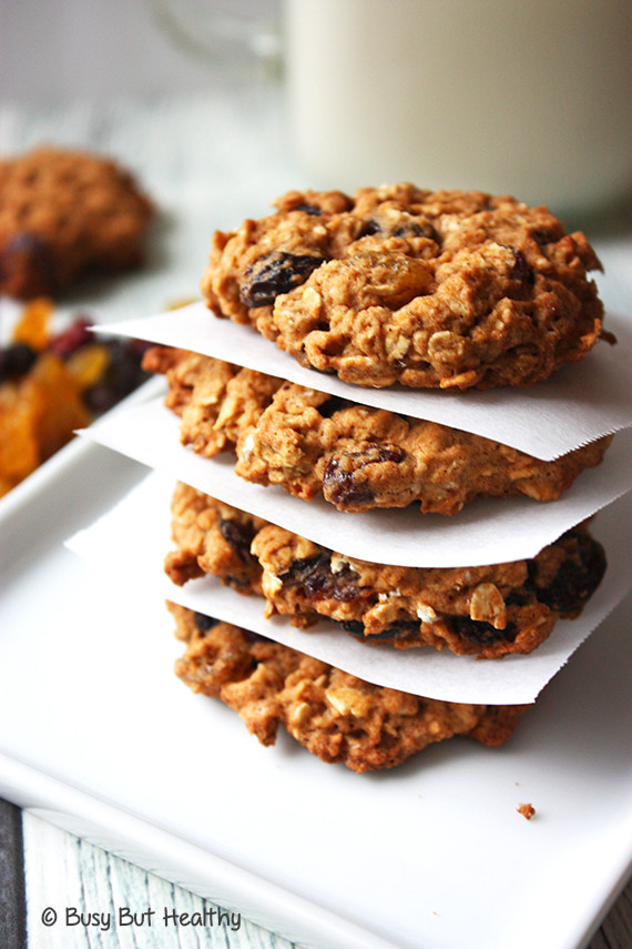 Is Oatmeal Cookies Healthy  Outrageous Oatmeal Cookies Healthier Starbucks Copycat