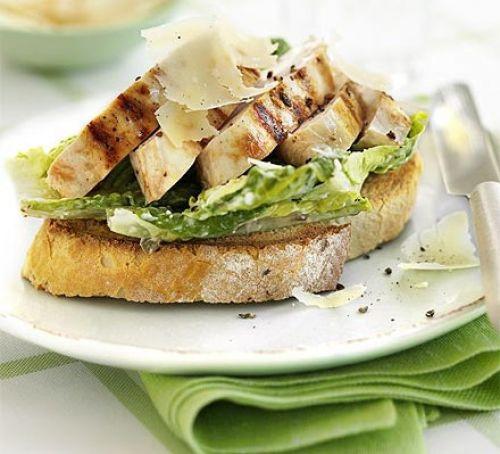 Is Panera Bread Open On Easter Sunday  Open chicken Caesar sandwich recipe