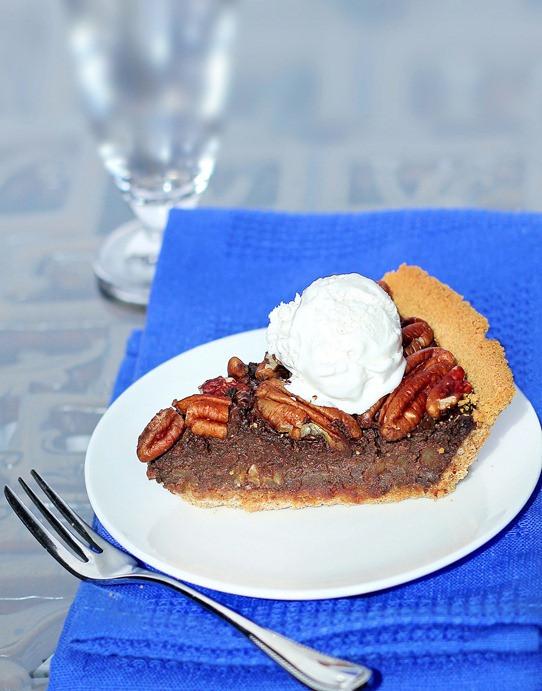Is Pecan Pie Healthy  Healthy Chocolate Pecan Pie