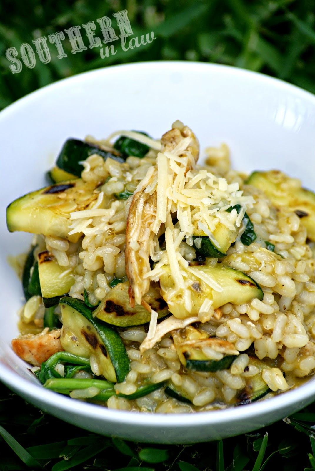 Is Pesto Sauce Healthy  Southern In Law Recipe Easy Healthy Chicken Pesto Risotto