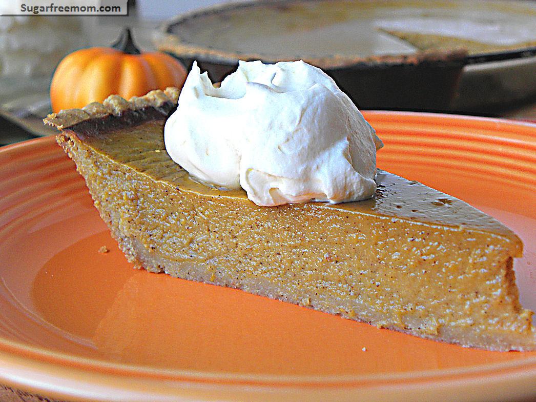 Is Pumpkin Pie Healthy  Healthier Pumpkin Pie Low Calorie & Low Sugar