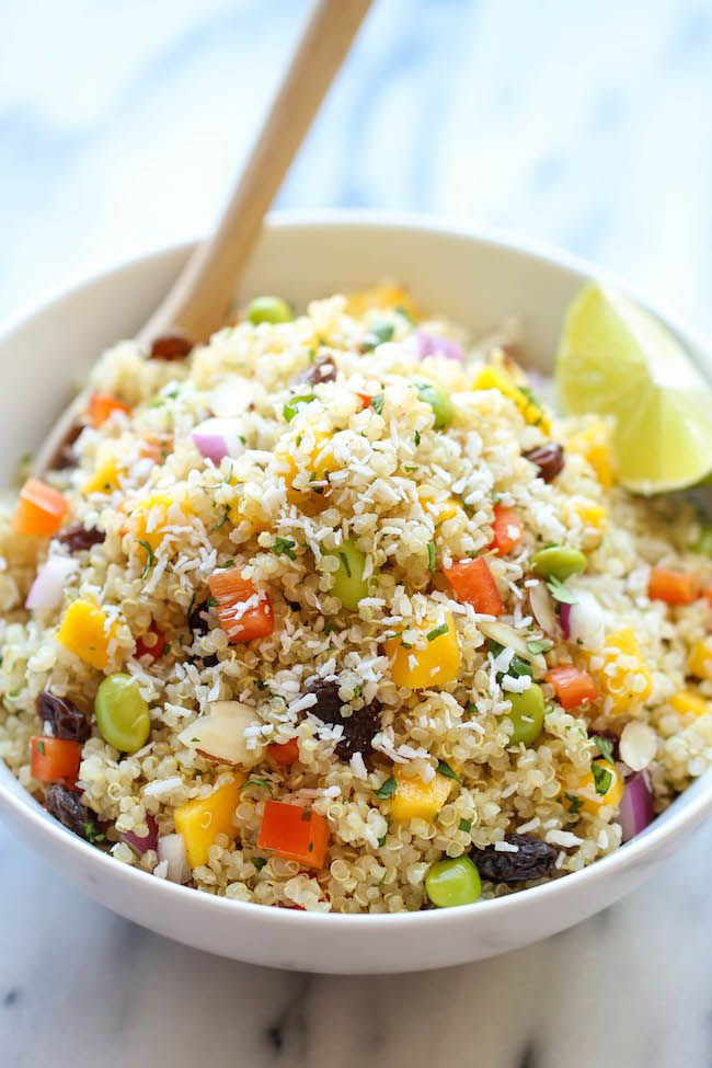 Is Quinoa Healthy  Whole Food s California Quinoa Salad Recipe