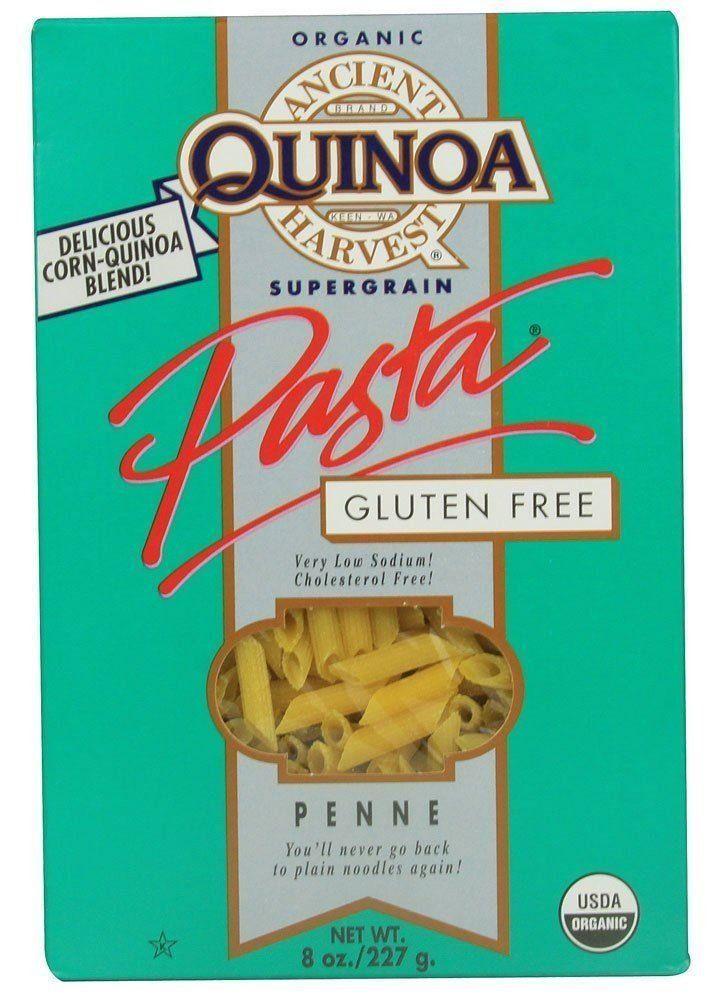 Is Quinoa Pasta Healthy  Ancient Harvest Gluten Free Supergrain Corn & Quinoa Pasta