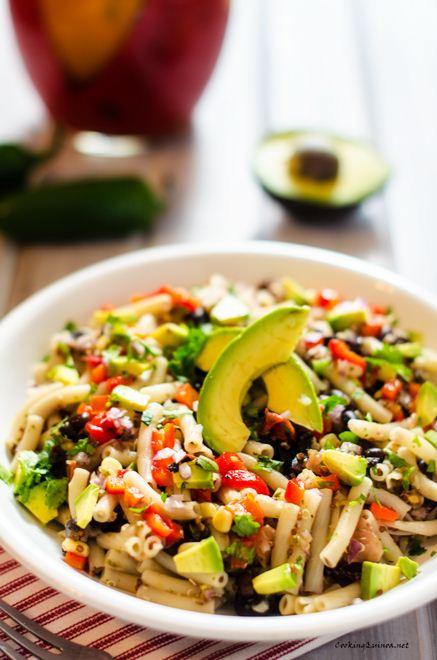 Is Quinoa Pasta Healthy  Southwestern Quinoa Pasta Salad Wendy Polisi