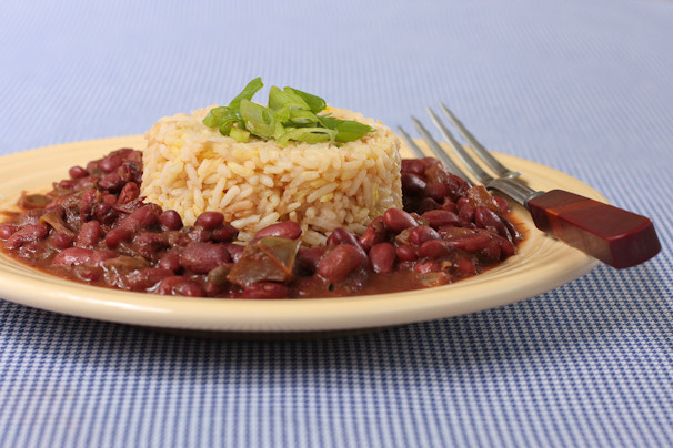 Is Red Beans And Rice Healthy  Vegan Louisiana Red Beans and Rice Recipe