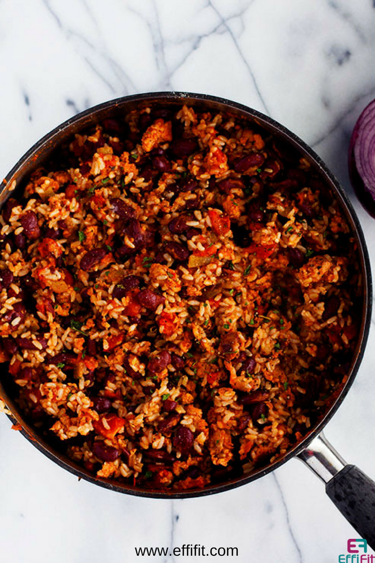 Is Rice And Beans Healthy  Quick Healthy and Delicious Red Beans and Rice