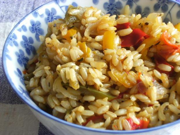 Is Rice Pilaf Healthy  Brown Rice Pilaf Recipe Food
