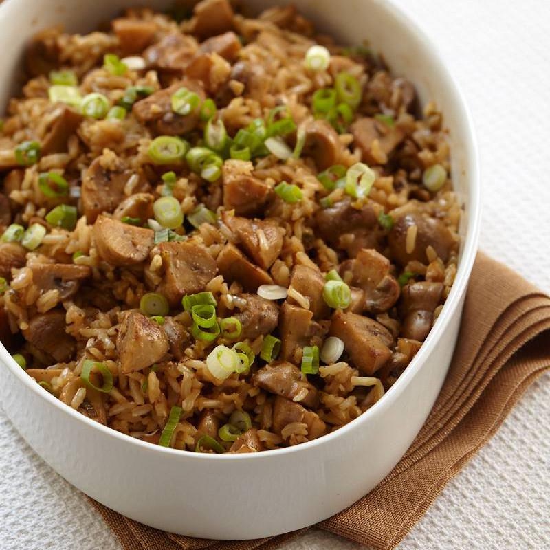 Is Rice Pilaf Healthy  Brown Rice Pilaf with Mushrooms Recipe Marcia Kiesel