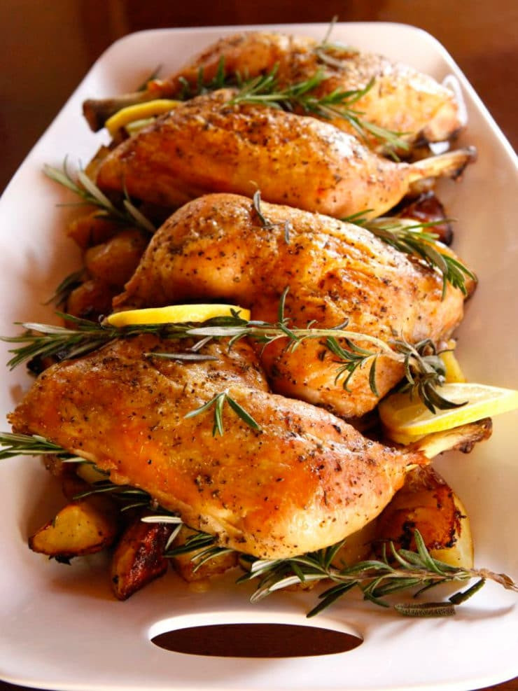 Is Roasted Chicken Healthy  Rosemary Roasted Chicken and Potatoes Healthy Recipe