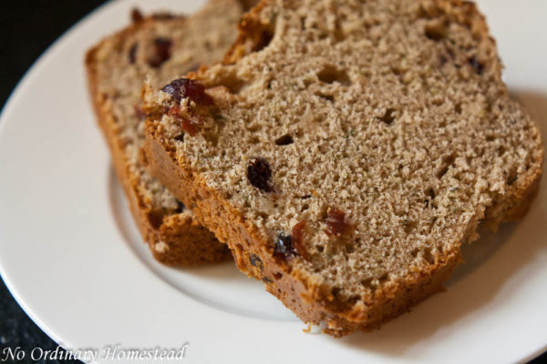 Is Rye Bread Healthy  Easy & healthier recipe for zucchini bread No Ordinary