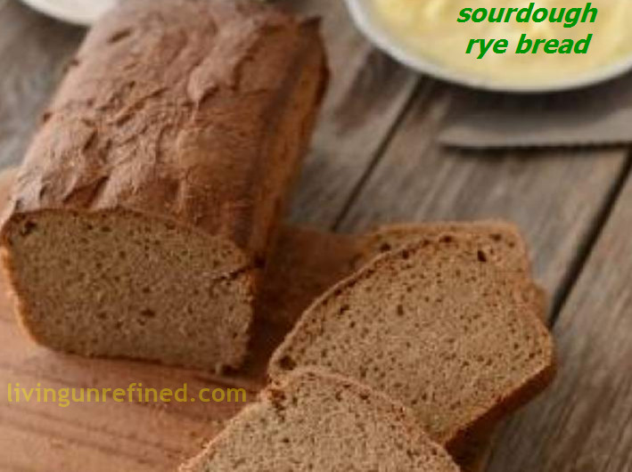 Is Rye Bread Healthy  Homemade Sourdough Rye Bread Recipe – Living Unrefined