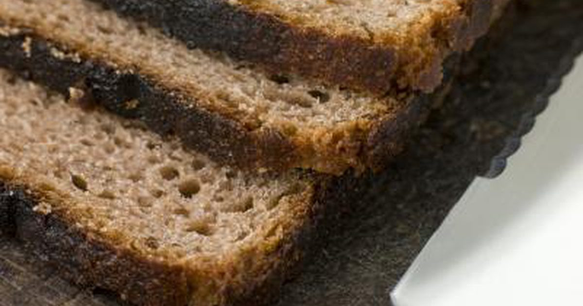 Is Rye Bread Healthy  The Glycemic Index of Rye Bread