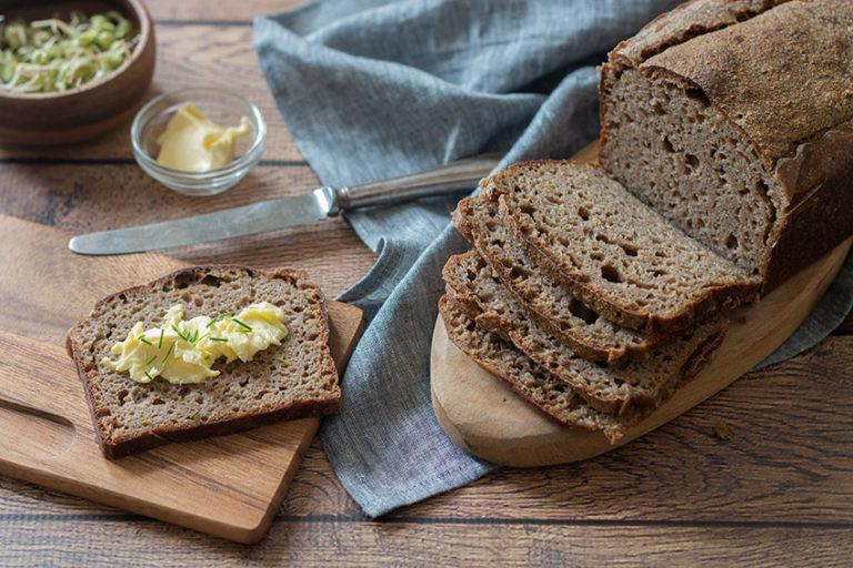 Is Sourdough Bread Healthy For You  Sourdough Rye Bread Recipe The Healthy Tart