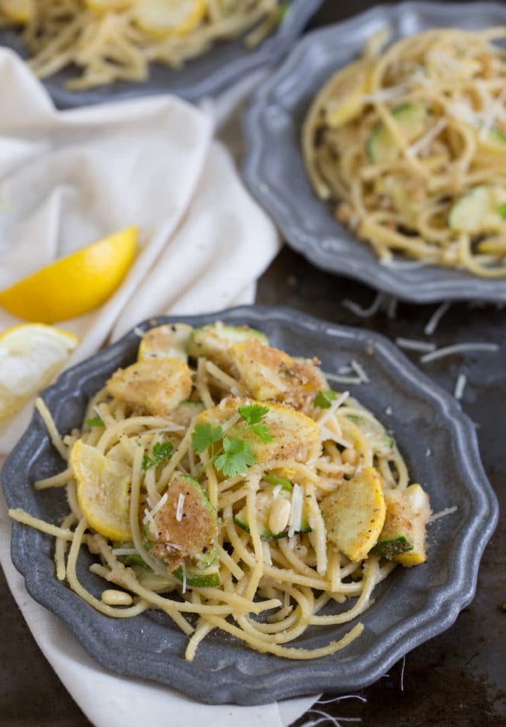 Is Spaghetti Squash A Summer Squash  20 minute Parmesan Lemon Zucchini & Summer Squash
