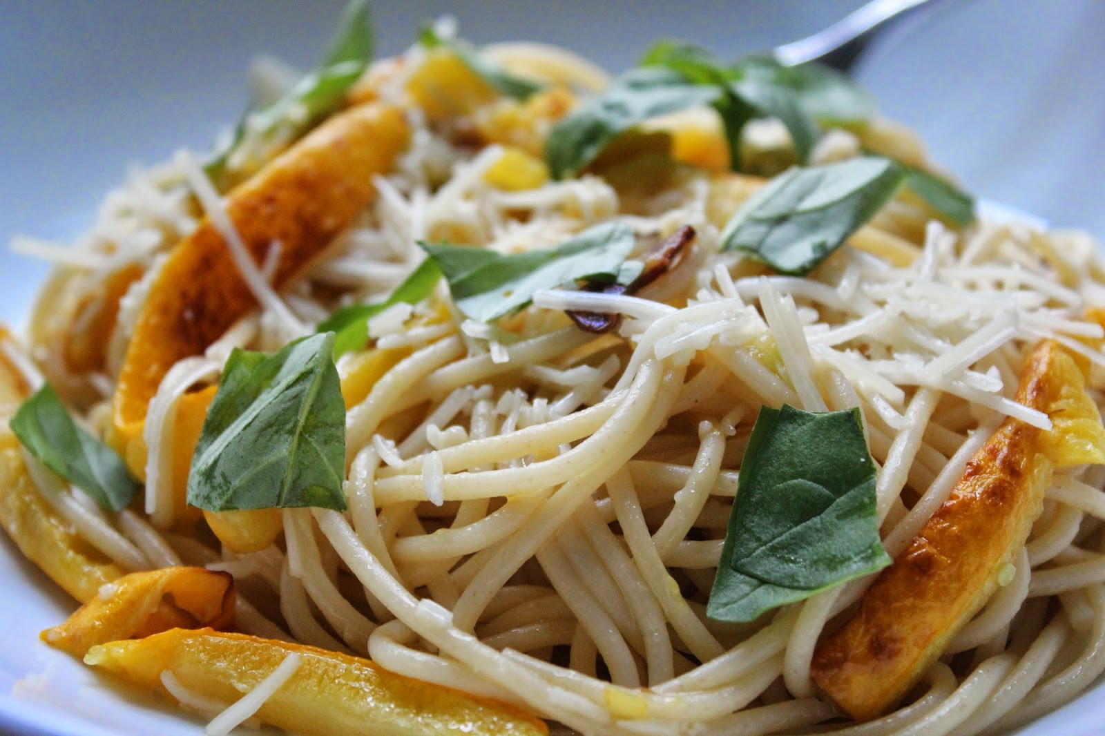 Is Spaghetti Squash A Summer Squash  Delicious Dishings Pasta With Summer Squash Garlic And