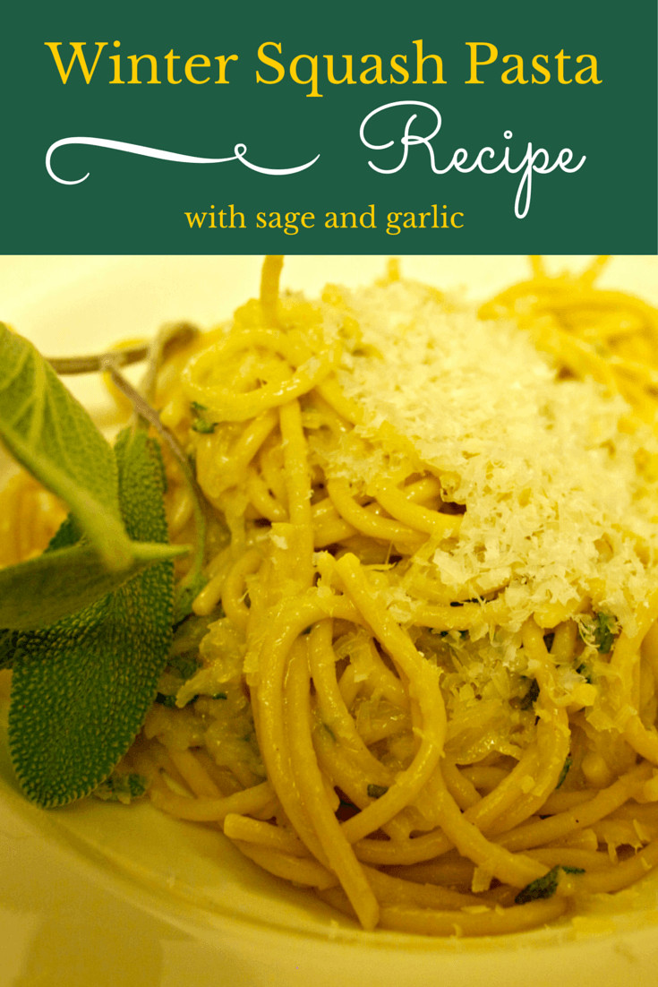 Is Spaghetti Squash A Summer Squash  Winter Squash Pasta with Sage Recipe