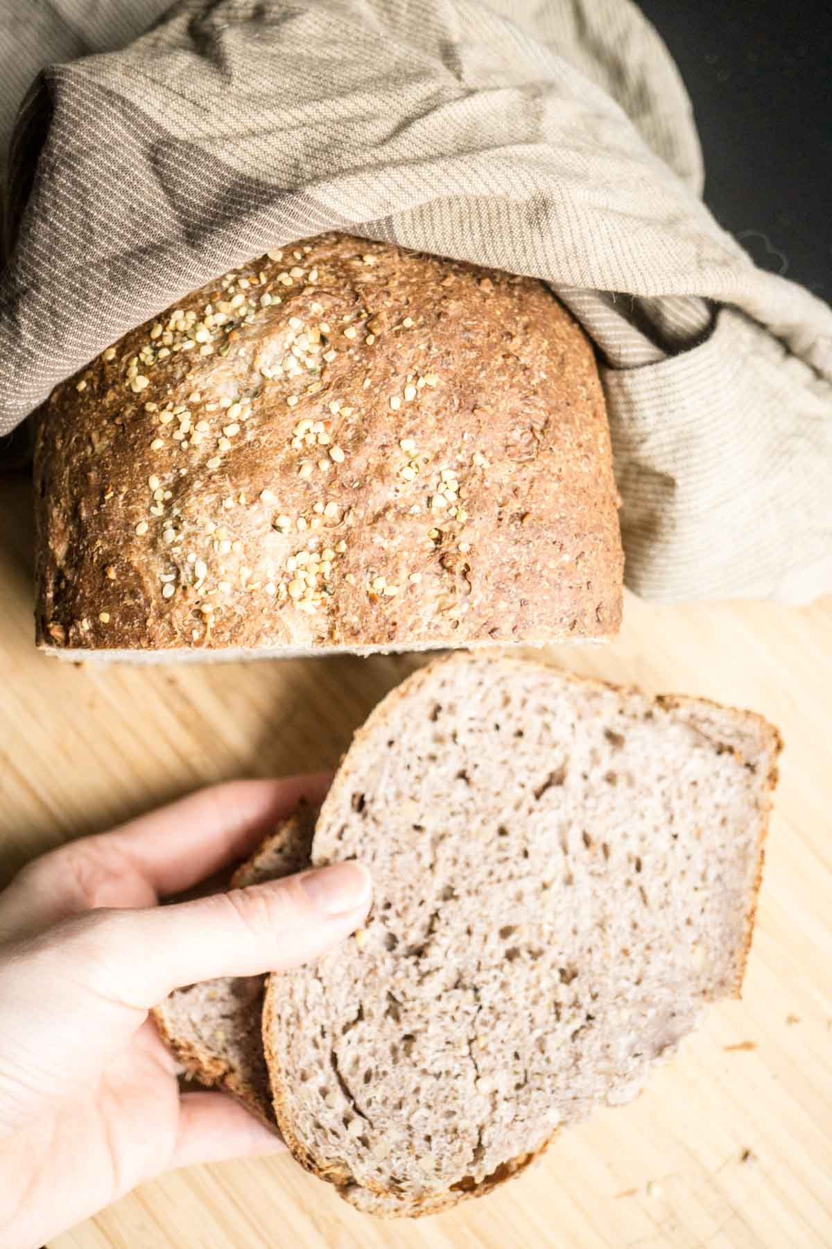 Is Store Bought Sourdough Bread Healthy  omega 3 sourdough bread Smart Nutrition with Jessica