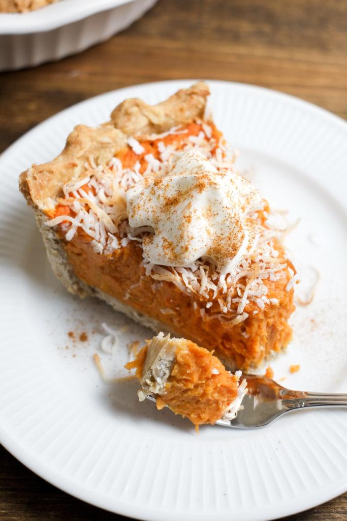 Is Sweet Potato Pie Healthy  Coconut Sweet Potato Pie Recipe
