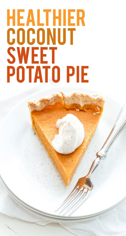 Is Sweet Potato Pie Healthy  Coconut Sweet Potato Pie Wholefully