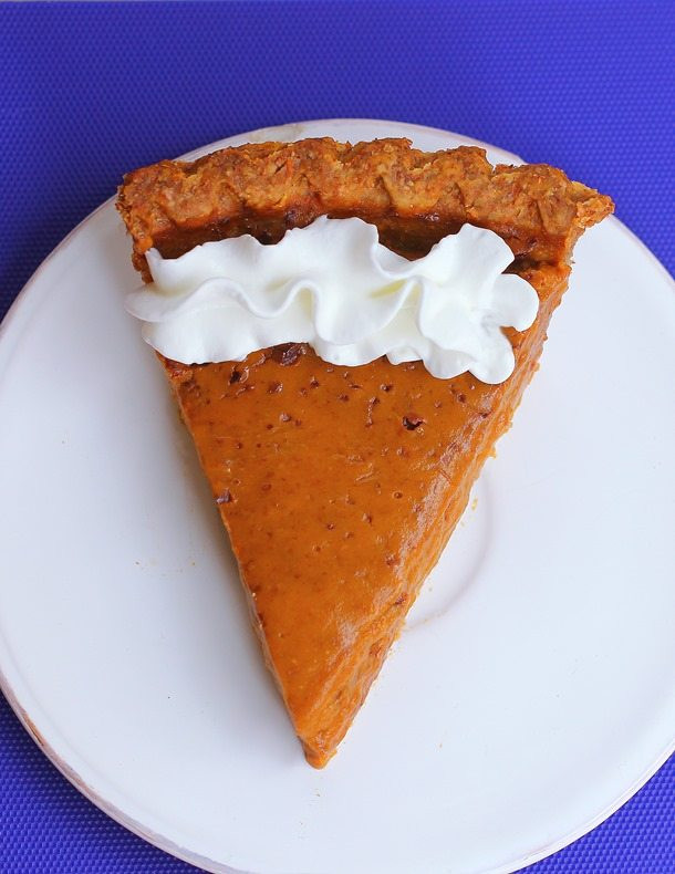 Is Sweet Potato Pie Healthy  Healthy Sweet Potato Pie with homemade pie crust