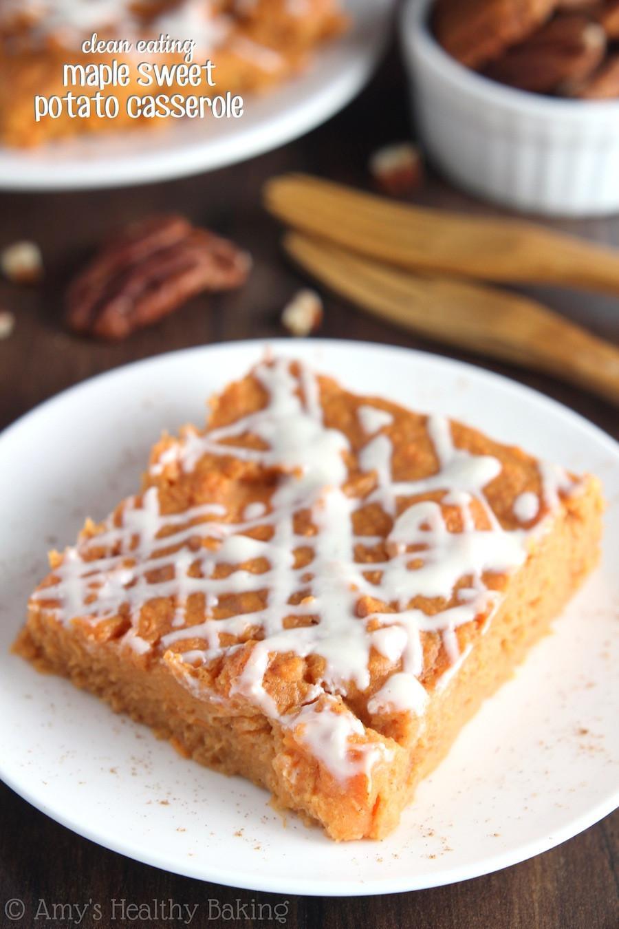 Is Sweet Potato Pie Healthy  Maple Sweet Potato Casserole