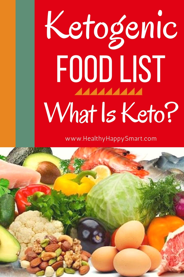 Is The Keto Diet Healthy  Ketogenic Food List • What is Keto Diet • Healthy Happy