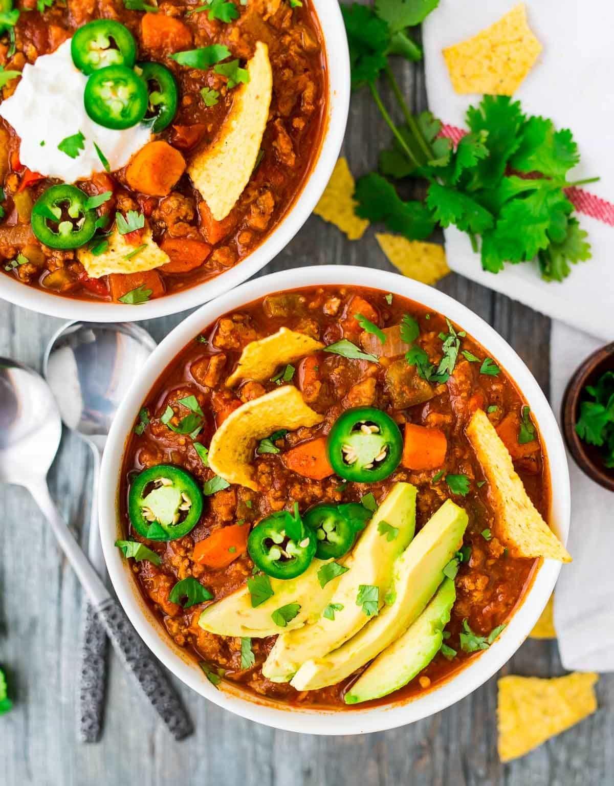 Is Turkey Chili Healthy  Healthy Turkey Chili